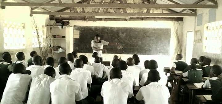 Motivational Talks at Kidemu Primary