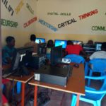 Participants learning Digital skills