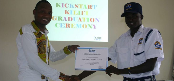 Cohort 1 Graduation Ceremony